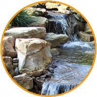 JMF Icons water feature